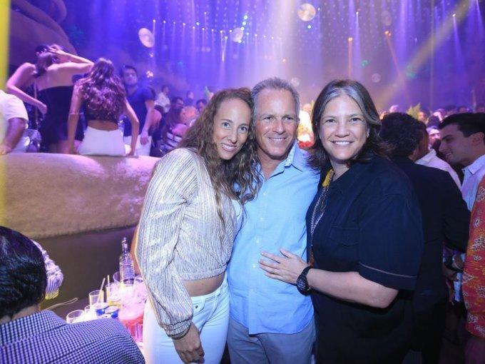 Sharon Fastlicht, Adolfo Fastlicht y Michelle Fastlicht