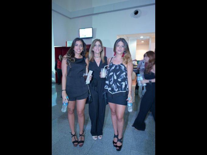 Jessica Atala, Claudia Musi y Claudia Hasbun