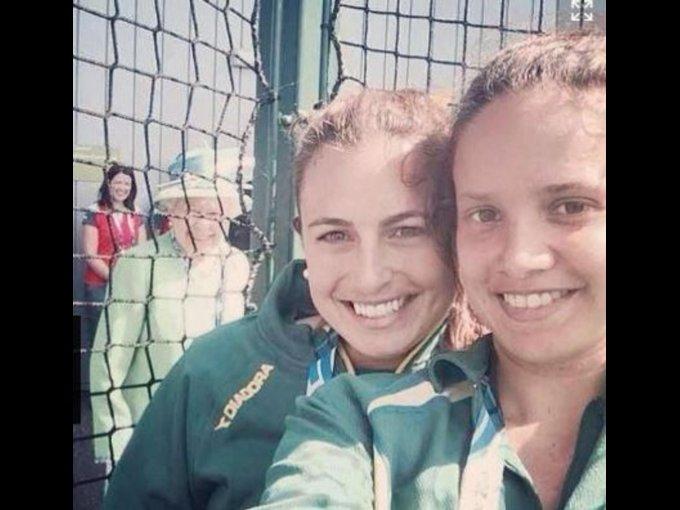 """Amante del """"photobomb"""" en selfies"""