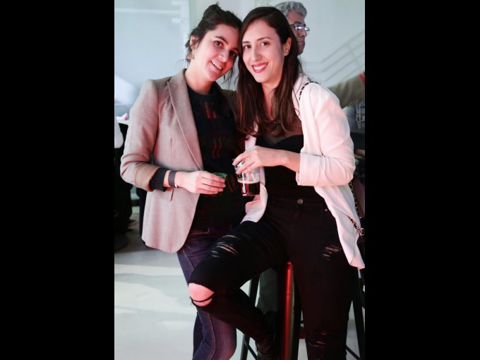 Natalia Pelayo y Elizabeth Maillard