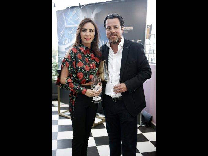 Ana Paula O'Farrill y Daniel Rodríguez