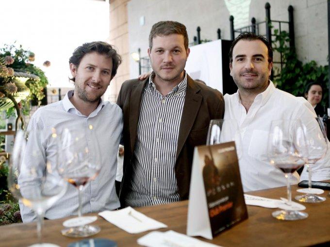 Sergio Felgueres, Miguel Millén y Alonso Pérez