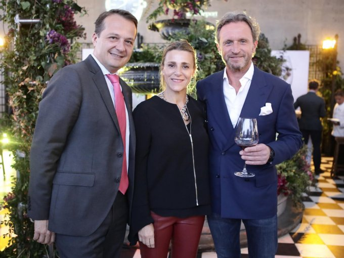 Julien Kozlowsky con Valeria Jelinek y Redek Jelinek