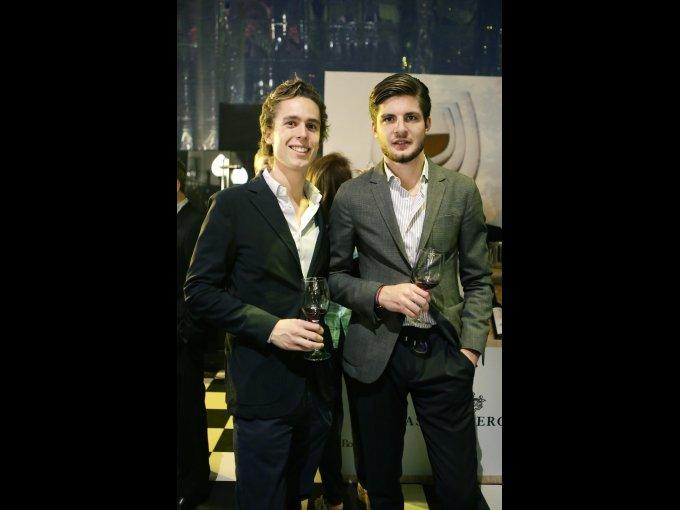 Lodovico Marzotto y Federico Berrone