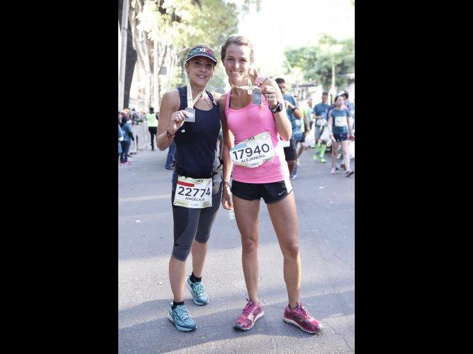 Angélica Soria y Alejandra Romero