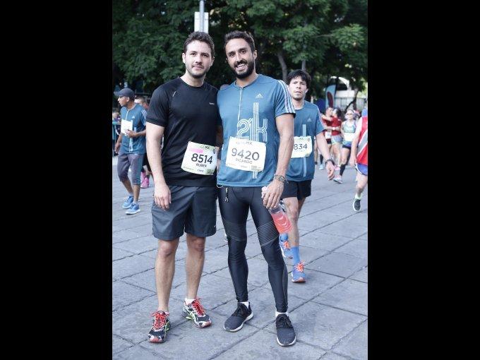 Rubén Martínez y Ricardo Carrero