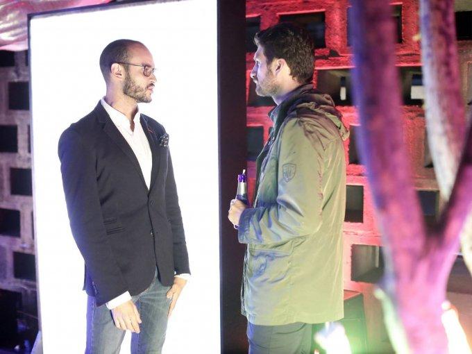 Juan Pablo Molinar y Adolfo González