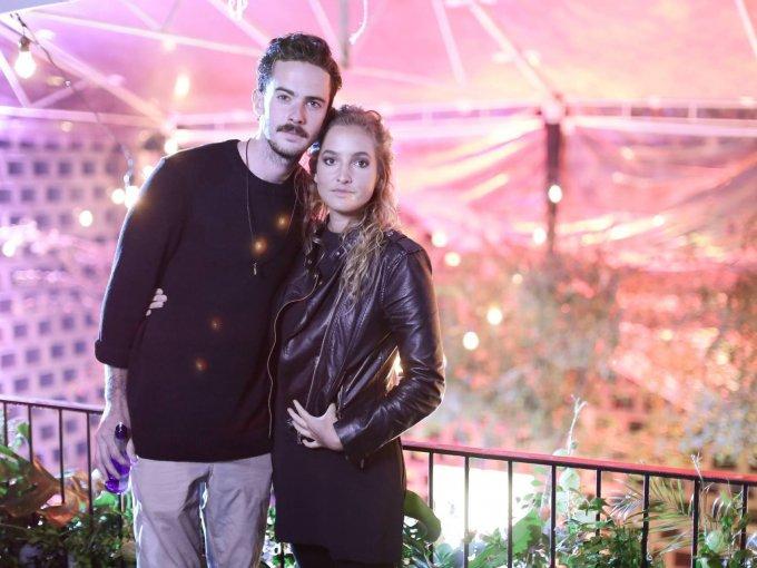 Jimmy Sirvent y Natalia González