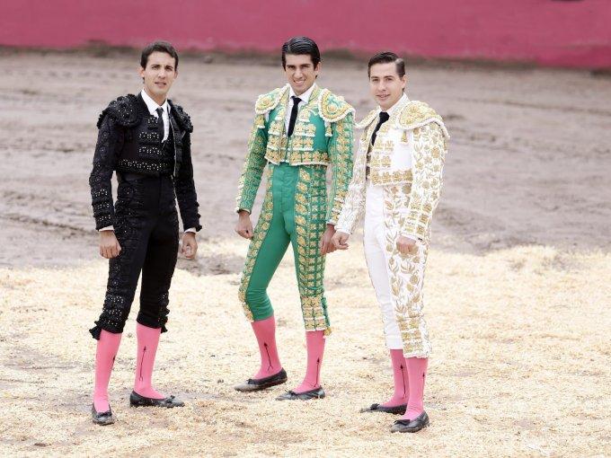 Alfonso Hernández El Pali, Ernesto Javier El Calita y Luis Manuel Pérez El canelo