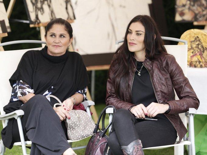 Angélica Michel y Nora Peña