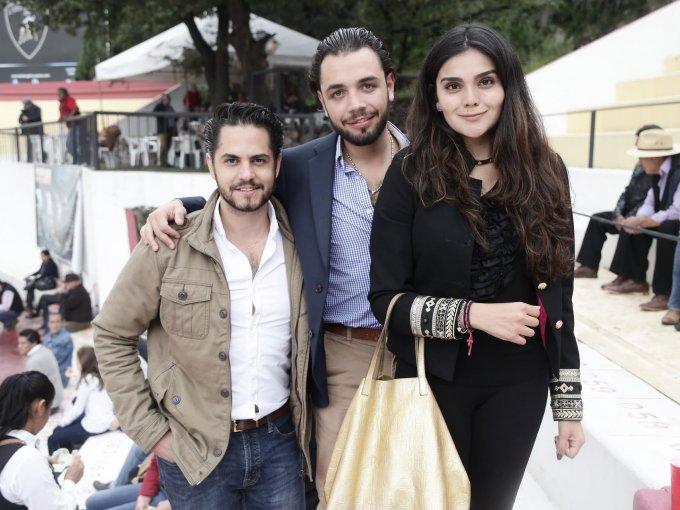 Sebastián Manzur, Jorge Meza y Pilar Rodríguez