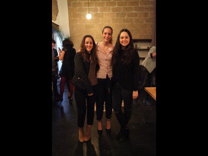 Mariana Martínez, Alejandra Quintero y Ana Lucía Arias
