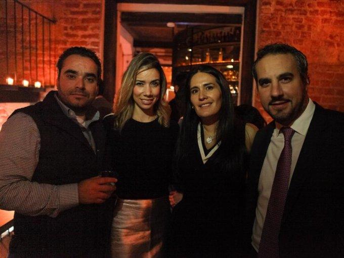 Raúl Abed, Ximena Cuervo, Glenda Argüelles y Alejandro Capello