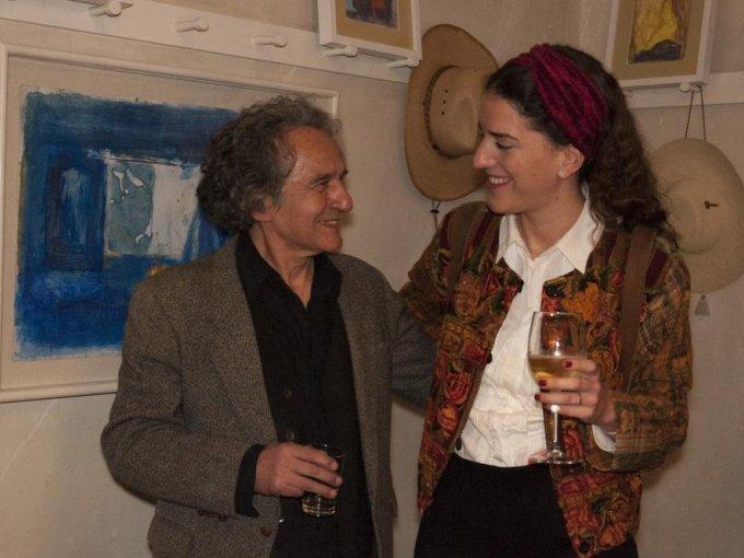 Jorge Herrera y Cecilia Revuelta