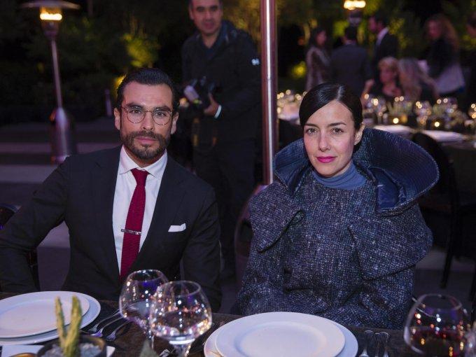 Gonzalo García Vivanco y Cecilia Suárez