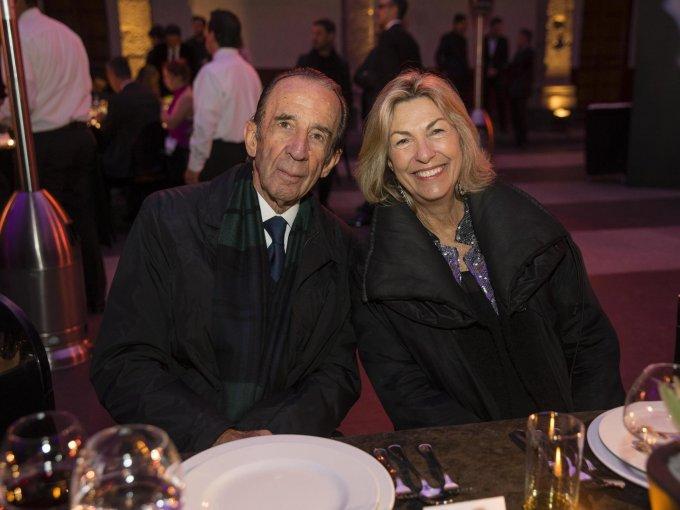 Manuel Arango y Marie Thérèse Arango