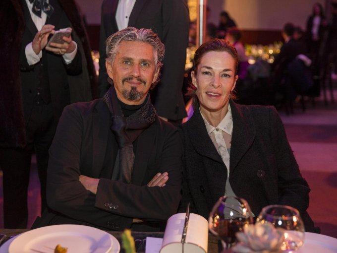 Miguel Ángel Aragonés y Ana Aragonés