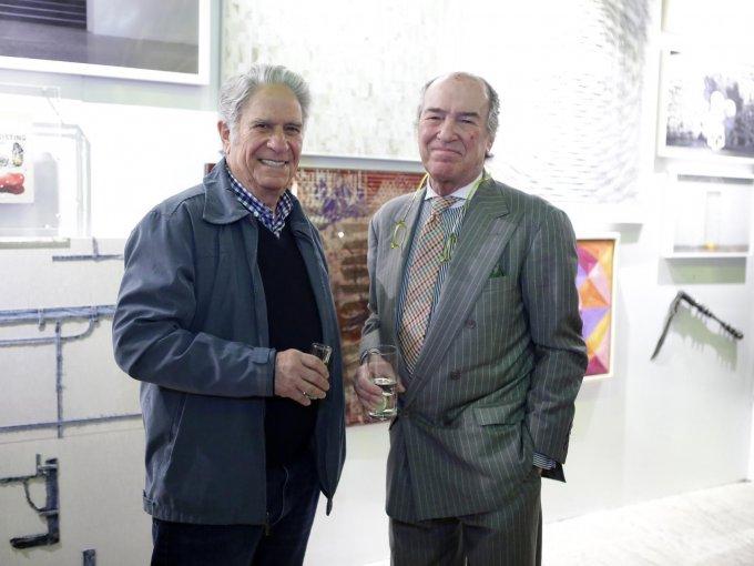 Eduardo Terrazas y Daniel Baños