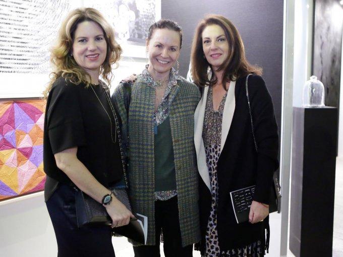 Nadine Estrada, Cathy O'hara y Teresa Ehrenberg