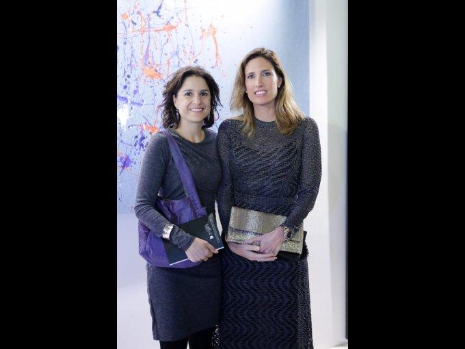 Samantha Teuscher y Victoria Espinoza
