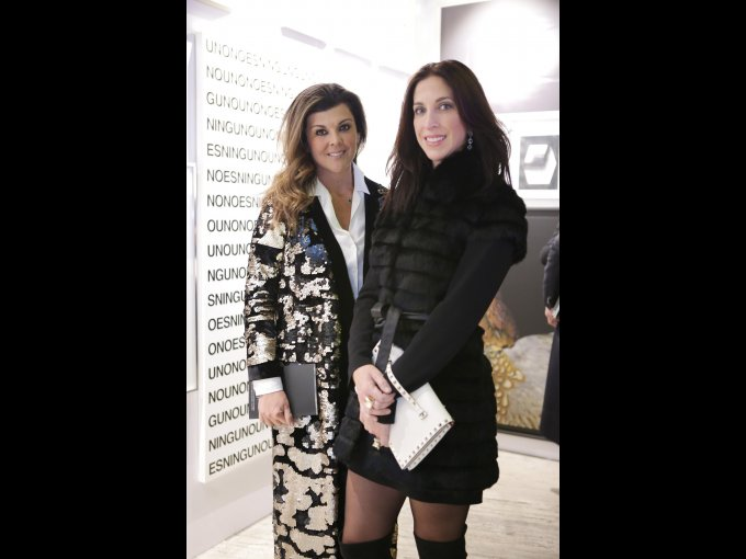 Almendra Ruiz y Lidia Elizondo