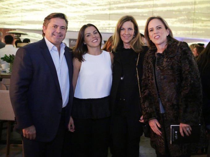 José Ramón Pérez, Gabriela Porrero, Amaya Murillo y Soles Lanzagorta