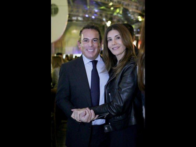 Eugenio López y Gabriela Garza