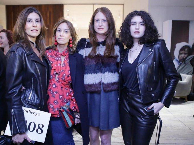 Gabriela Garza, Ana Lucía de Teresa, Zélika García y Camila Garza