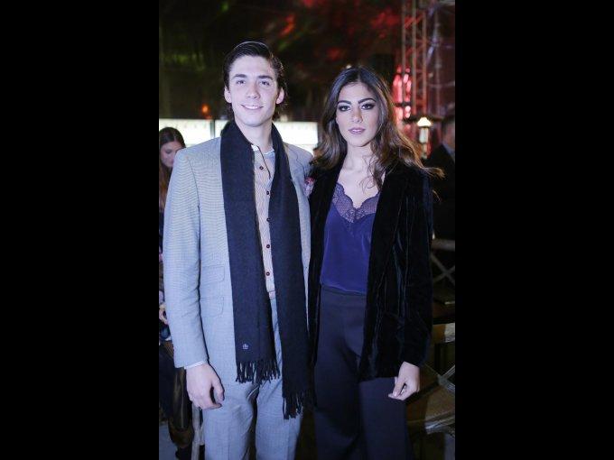 Juan Pablo Chedraui y Ana Paula Domenzain