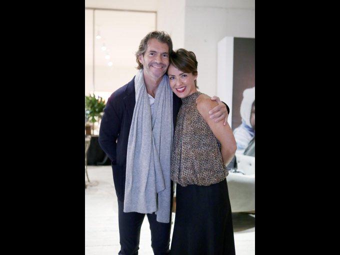 Raúl Martínez Ostos y Regina Pérez