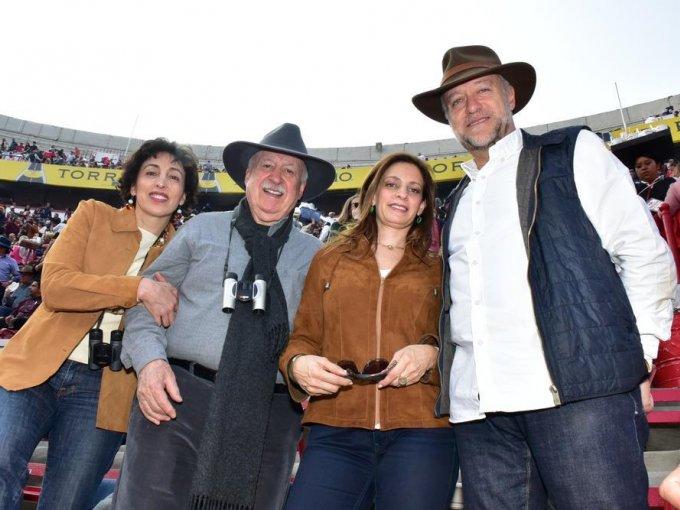 Patricia Agraz, Bruno Newman, Bárbara Newman y Pablo Ruiz Galindo