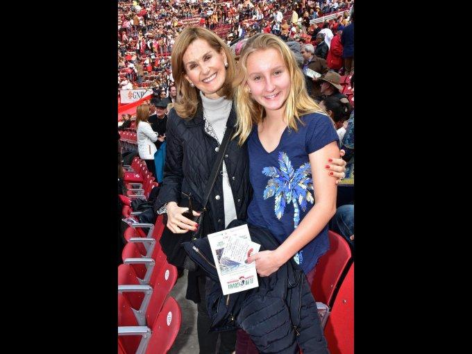 Ana Casanueva y Lil Aristegui