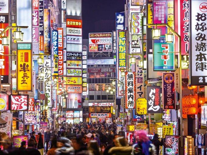 3. Tokyo: la capital de Japón alberga a 6,040 personas de alto patrimonio neto y la población tiene un gran crecimiento de 17.5%