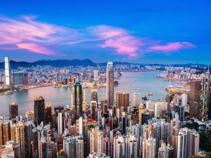 2. Hong Kong: 7,650 personas y una creciente de 4.1% del año anterior al 2017