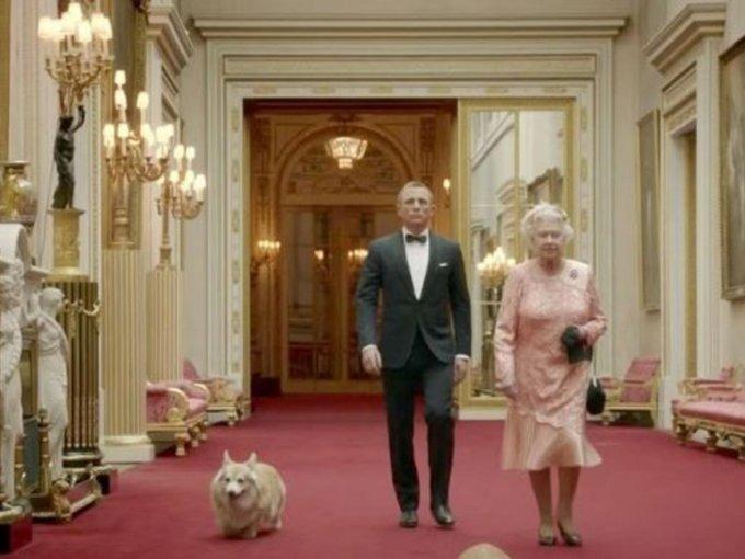 """Filmó un pequeño sketch con """"James Bond"""", para la inauguración de las olimpiadas en Londres"""