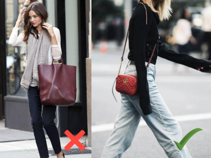 Olvida los bolsos grandes y mejor prueba los pequeños clutches