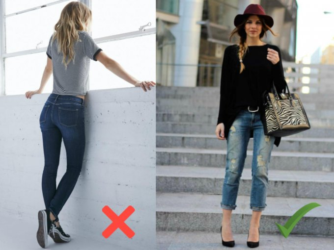 Bye bye skinny jeans, HOOOLA boyfriend jeans rasgados