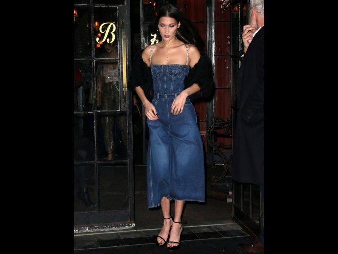 Bella Hadid en Dior, Nueva York