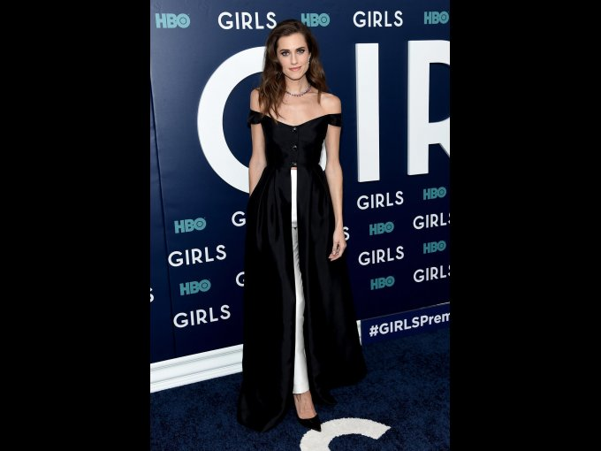 Allison Williams en Gabriela Hearst, Nueva York