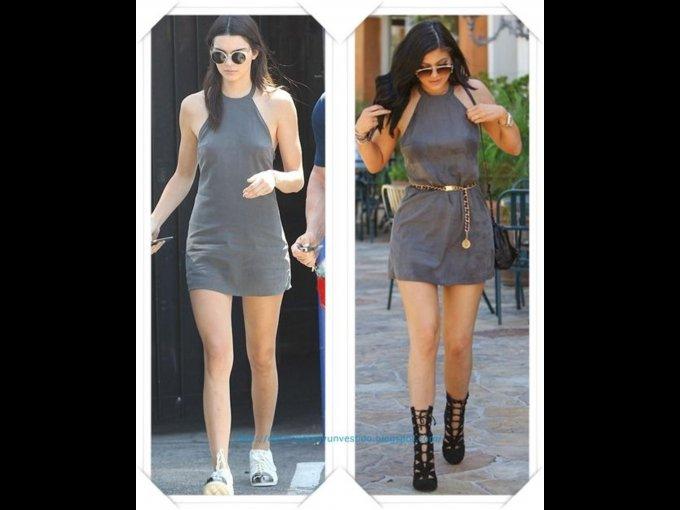VESTIDO. Kendall y Kylie Jenner