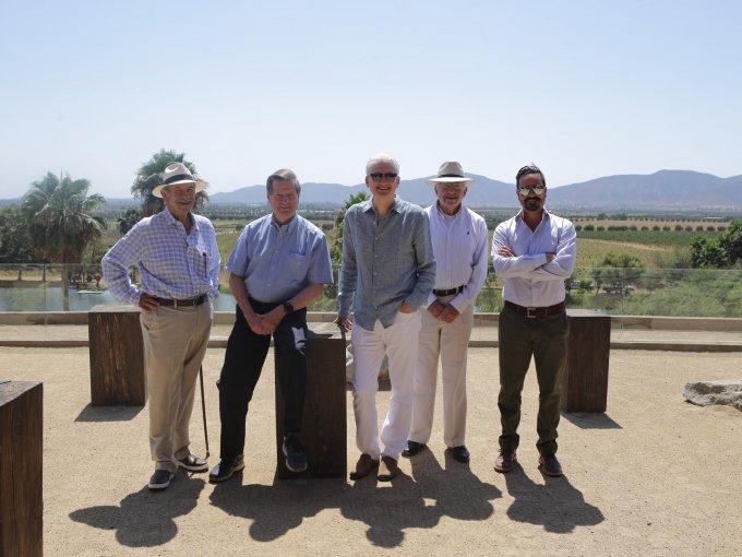 Hans Backhoff Escudero, Eric Hagsater, Richard Hojel, Manuel Castro y Hans Backhoff