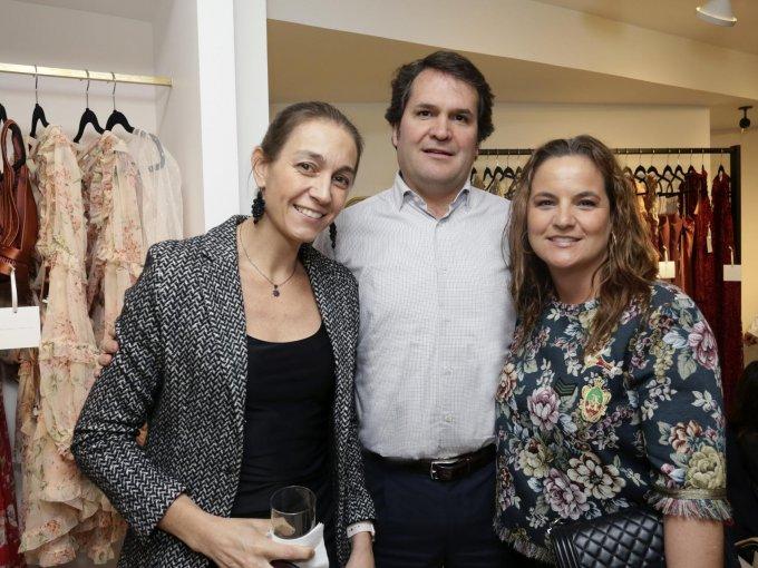 Josune Araujo, Manuel Gómez y Helena Gómez