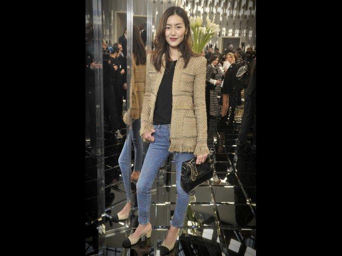 Liu Wen en Chanel