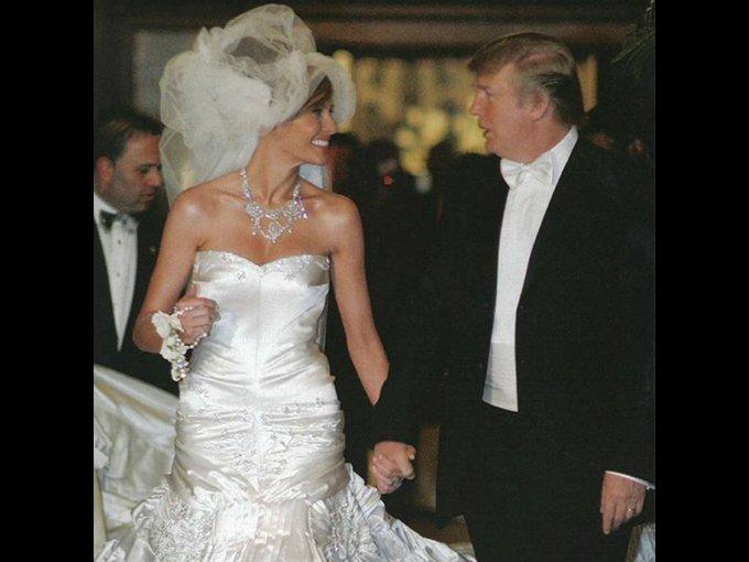 El día de su boda, la felicidad era eminente