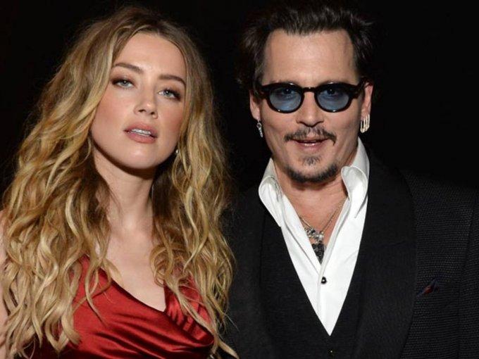 Amber Heard y Jhonny Depp