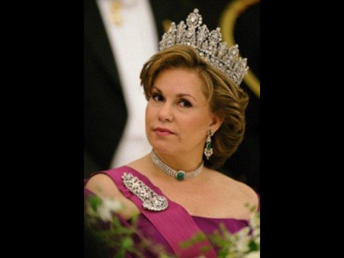 María Teresa Mestre. Cubana esposa del Gran Duque Heredero de Luxemburgo, Enrique.