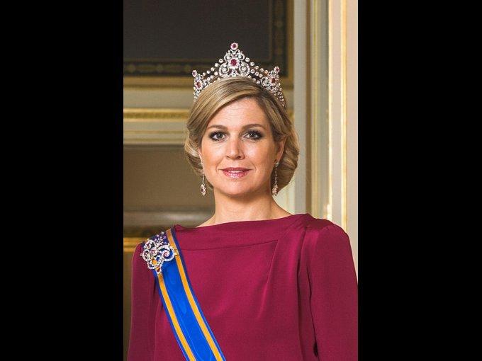 Máxima Zorreguieta. De nacionalidad argentina esposa del príncipe heredero de los Países Bajos, Guillermo Alejandro de Orange-Nassau.