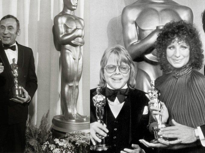 Barbra Streisand y actores
