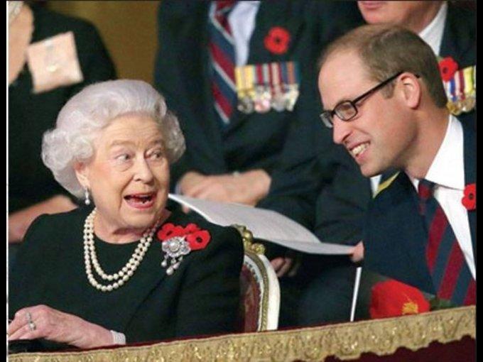 Con el príncipe William