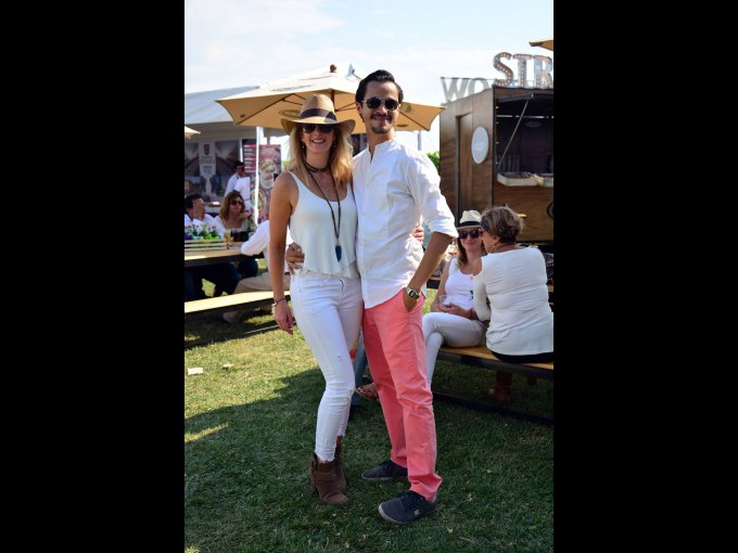 Karen Rittner y Carlos García
